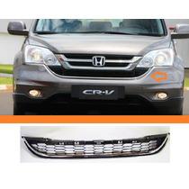 Grade Inferior Parachoque Honda Crv 2010 2011 Friso Cromado