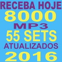 Pacotão Dj 8000 Músicas + 55 Sets Mix 2016 50gb Receba Hoje