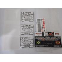 Etiqueta Nivel Combustivel Tanque Rd 135 Rdz 135 Orig Yamaha