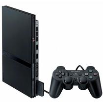 Play 2 Ps2 Playstation 2,controle Memory Destravado Usado