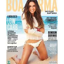 Revista Boa Forma 358 = Giovanna Antonelli Ago 2016 Lacrada!