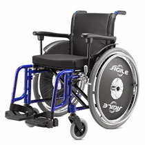Cadeira De Rodas Em Alumínio Agile 48cm Jaguaribe