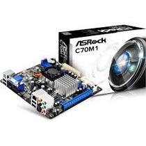 Combo Tarjeta Madre + Procesador Asrock C70m1 Amd Dual Core