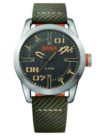846614061644 Reloj Hugo Boss Para Caballero Color Verde Y Plateado -   3
