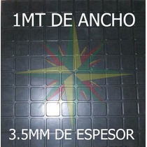 Piso De Goma Ceramix Gimnasio Alto Transito 1 Metro De Ancho
