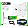 Potente Kit 5 En1 Auditar Red Kasens G9000 Claves Wifi 4.5km