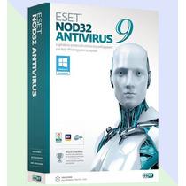 Eset Nod32 Antivirus 9 - 1 Año 1 Computadora - Facturamos