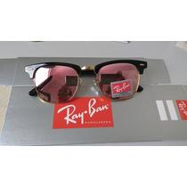 Óculos Ray-ban Rb3016 Clubmaster Lente De Cristal