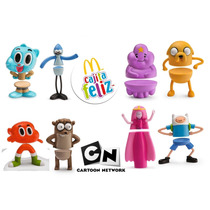 Coleccion Favoritos De Cartoon Network Mcdonalds 2016