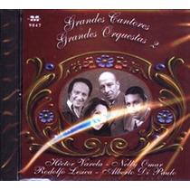 Cd Varios Interpretes Grandes Cantores / Orquestas Vol. 2 Nu