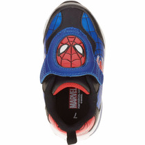Zapatillas Spiderman Araña Luz Disney Import Usa,v. Crespo