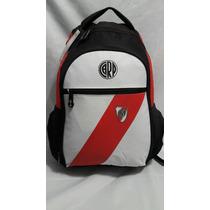 Mochila River Plate De Espalda Deportiva Licencia Oficial