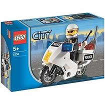 Juguete Lego City Motocicleta De La Policía 7235