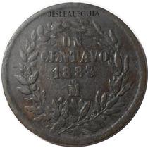 1 Centavo Juárez 1888/7 Mo - México - República Mexicana