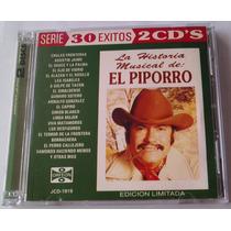 Eulalio Gonzalez Piporro Historia Musical Cd Doble 1994 Bvf