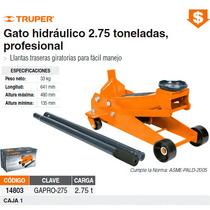 Gato Hidraulico Tipo Patin Capacidad 2.75 Ton