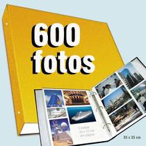 Álbum Gigante De Fotografias P/ 600 Fotos 10x15 Cm
