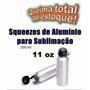 50 Un Squeeze P/ Sublimação Academia Garrafa Aluminio 500ml