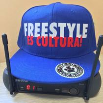 Gorra Plana Freestyle Es Cultura Hip Hop Argentino Snapback