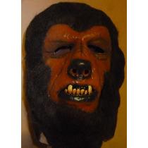 Hombre Lobo Mascara De Latex Luna Llena Fiestas Carnaval