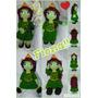 Amigurumi Princesa Fiona (pelicula Shrek)
