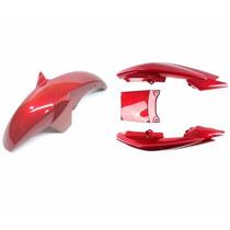 Para-lama Diant.+ Rabeta Ybr 125 Factor 09 A 12 - Vermelho