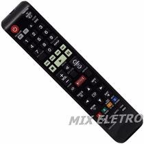 Controle Remoto Home Theater Bluray 3d Samsung F5525k F4505