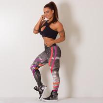 Calça Legging Fitness Digital Galaxy