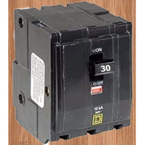 Interruptor Termico Qo 3 X 30 Amp Mod Qo330 Square D