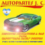 Kit Resortes Neumáticos Grand Cherokee Wj Capot/porton 98/04