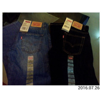Pantalon Levis 505 De Niño Original Talla 12 Azul Y Negro