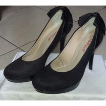 Sapato Fechado Com Laço Atrás - Bebecê