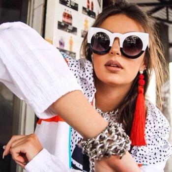 Óculos De Sol Gatinha Descolado Modelo Wolves + Cores - R  159,90 em  Mercado Livre 849a5e93c0