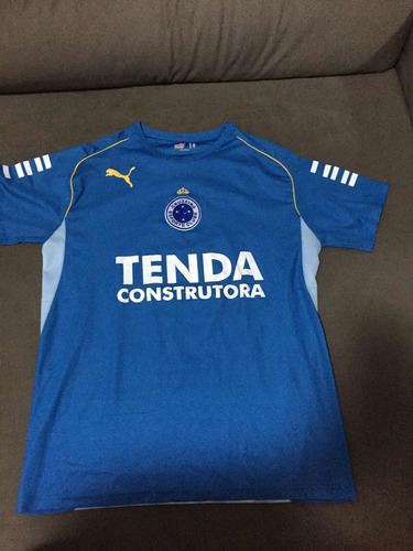 69dc8c5801 Camisa Cruzeiro 2008 Número 3 - R  200