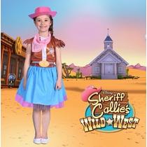 Disfraz Sheriff Callie Con Pollera Original New Toys Urquiza