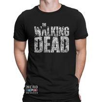 Camisetas The Walking Dead Rick Negan Daryl Zumbis Hq