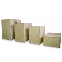 Plyo Box 20x24x30,banco Salto,cajon,crossfit,3 En 1,caja