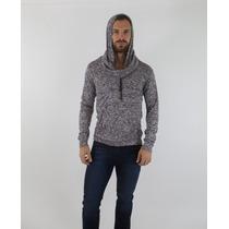Suéter Ligero Slim Fit Gorro Tipo Assassins Creed Envio 24h