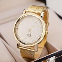 Precioso Reloj Dorado De Mujer - Oferta Navidad !!!!!