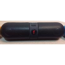 Mini Caixa De Som Portatil Bluetooth Mp3 Usb - Pequena