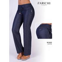 Jeans Levanta Cola Farichi Studio Relax