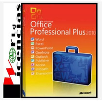 Office Professional Pro Plus 2010 5 Pc Licencia Original