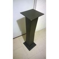 Conjunto Mesa Pedestal Y Centro De Mesa Minimalista Chocolat