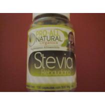 Stevia Peruana 100 Capsulas Pura Organica Natural