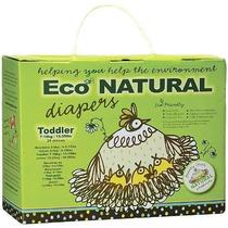 Broody Pollito Recién Nacido Pañales Eco-naturales, 36 Coun