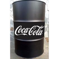 Adesivo Coca-cola Para Tonéis Frete Barato