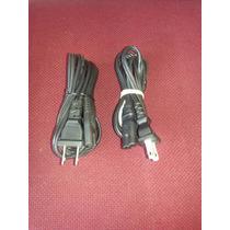 Cable De Corriente Universal Grabadora Radios Tv Componentes