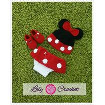 Conjunto De Minnie Mouse