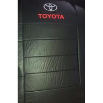 Fundas Cubre Asiento Toyota Hilux D/c Cuerina Bastonada