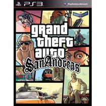 Grand Theft Auto San Andreas Ps3 (no Hd) .:ordex:.
